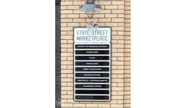Directory and Wayfinding Signage with changeable plaques